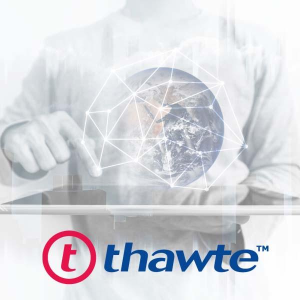 Certyfikat Thawte SSL 123